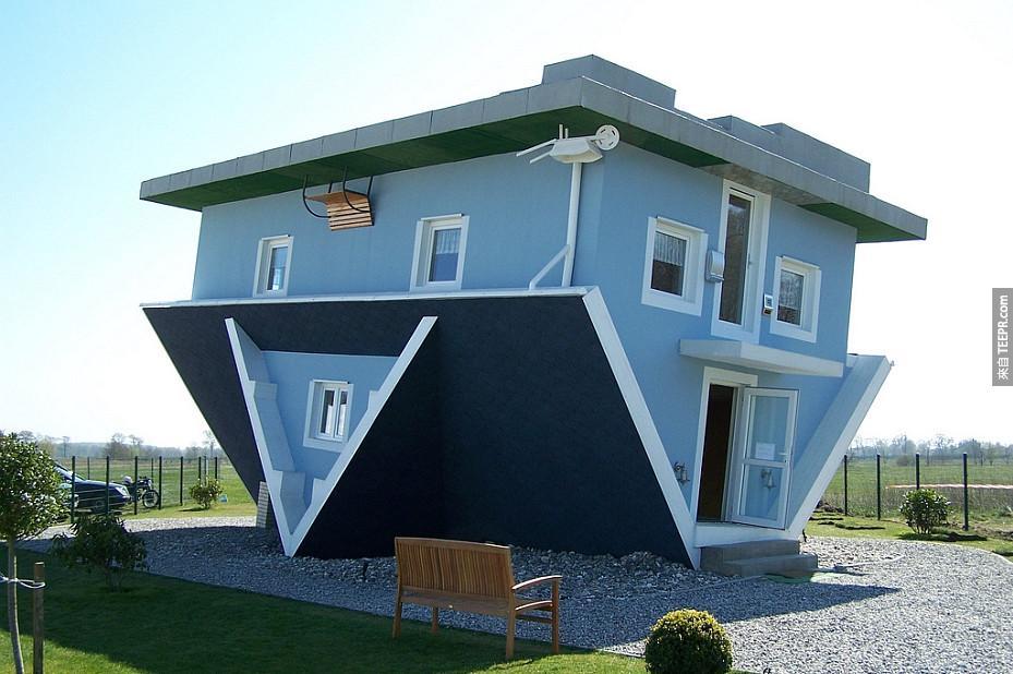 26)倒掛的房子 - 特拉森海德,德國