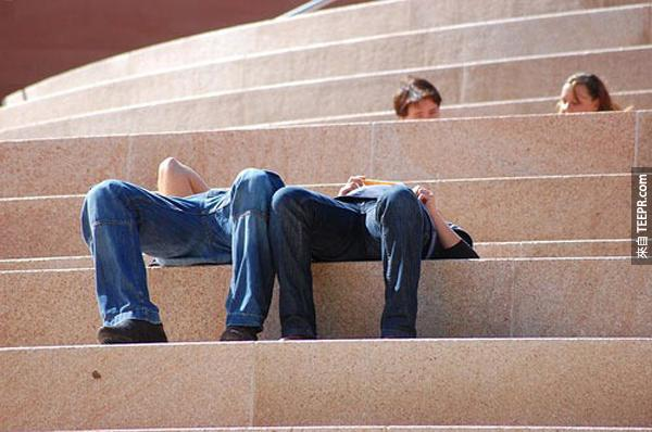 22.) 軟骨功練到9級的時候還可以穿越石階。