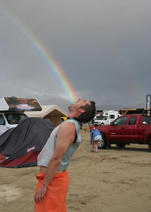 23.) 这就是你吃彩虹的方法。