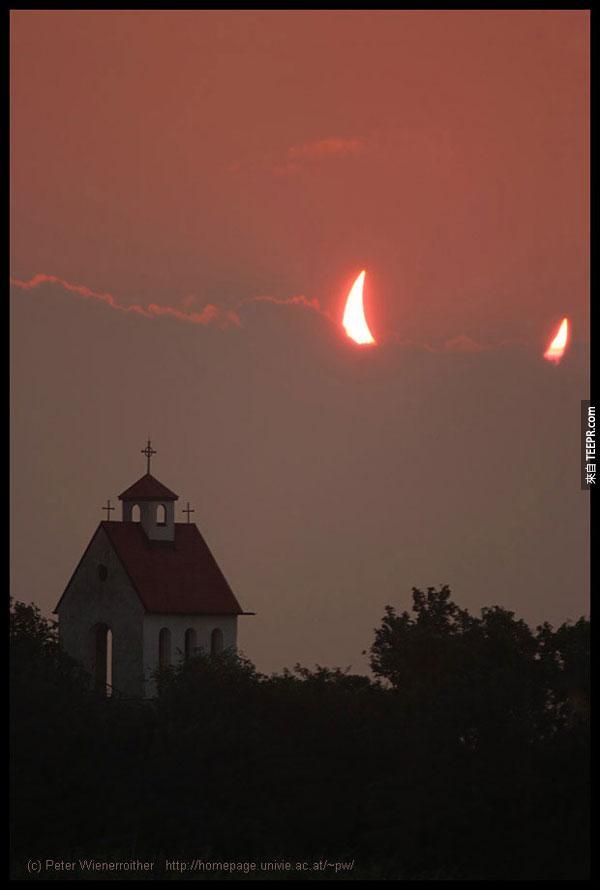 21.) 看來有什麼邪惡的惡魔要出現了...