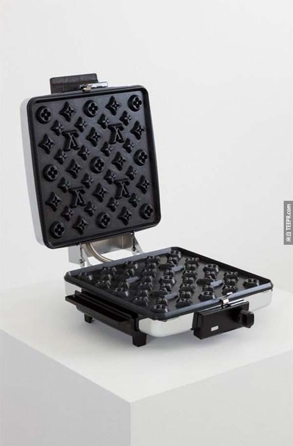 21.) A fancy schmancy Louis Vuitton waffle iron