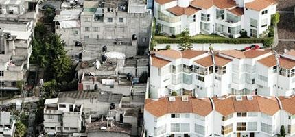 這可能令你很難相信,但是這些照片裡面的貧富差距絕對不是PS出來的。