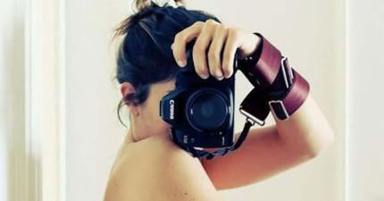這個女生的第一張自拍照看起來很虛偽,但是當我看到其它的...原來我誤會了!