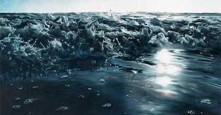 這不是一張海的照片。當我發現到是什麼的時候,我還是不敢相信我的眼睛!