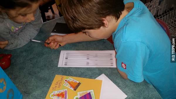 在這個小男孩的生日當天,他的爸爸幫他設計了一個超級不可思議的尋寶遊戲。