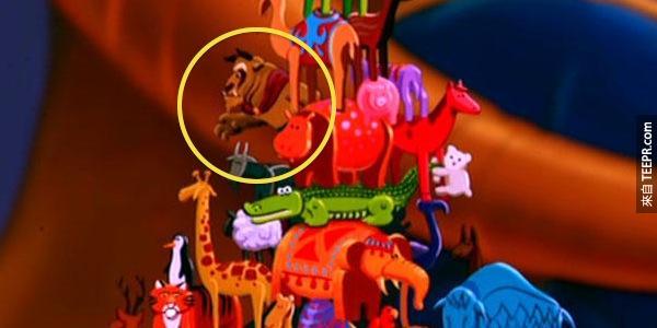 這麼多年來,迪士尼一直在他們的電影裡面隱藏一些秘密。我不敢相信我居然沒有看到#3!
