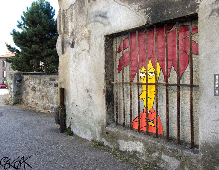 雜耍家鮑伯 (Sideshow Bob, France)