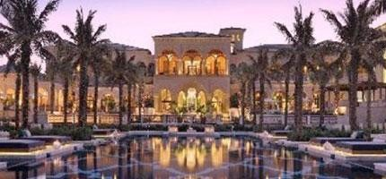 24間豪華到不行的中東旅館。光看看都過癮!(也只能這樣)