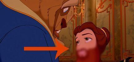 迪士尼公主如果滿臉鬍子的話。你還會喜歡她們嗎?
