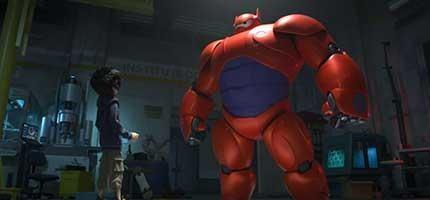 這就是快要上映的迪士尼超級英雄卡通。我等不及了!