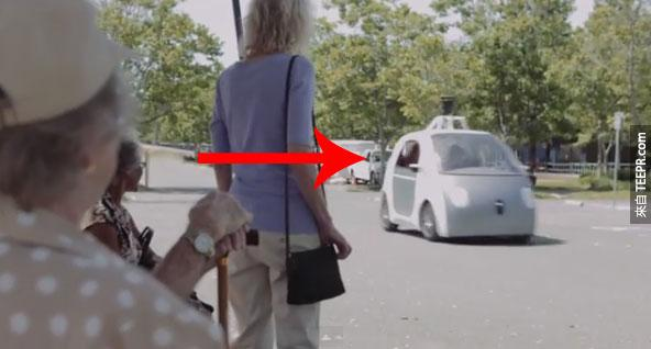 Google的無人車