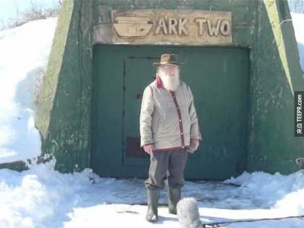 這個加拿大的「社區」有一個10,000平方英呎的核子避難所。