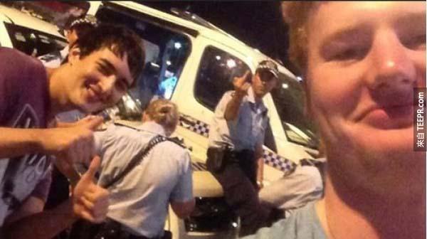 20.) 至少這次警察比較有反應...