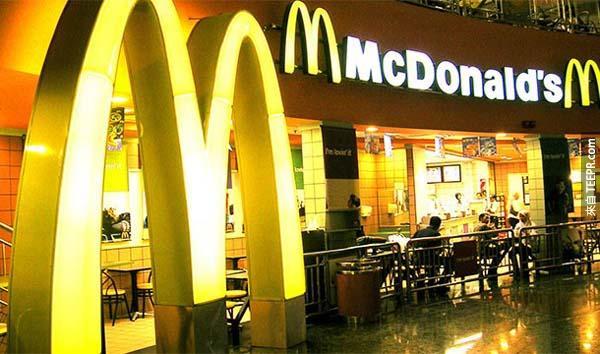 22.) 麥當勞(玻利維亞): 這並不是一個法令,但是是一件很驚人的事實,那就是拉丁美洲是全世界唯一沒有麥當勞的國家。原因就是因為當地人不喜歡吃麥當勞,所以生意非常差。