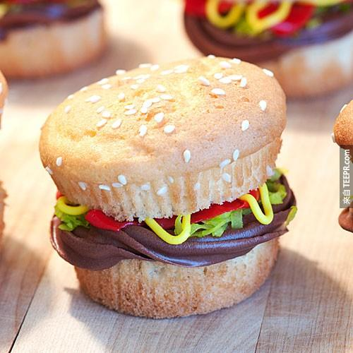 1. 漢堡