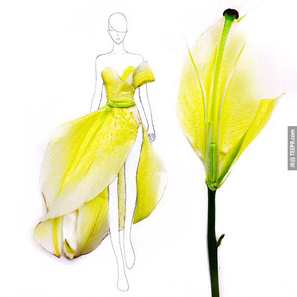 網路爆紅的新加坡女生因為一場意外居然把花瓣做成這個東西。跟我想得不一樣,但還是很酷!