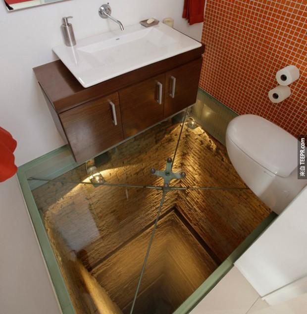 23個讓人最緊張的廁所。你改挑戰嗎?