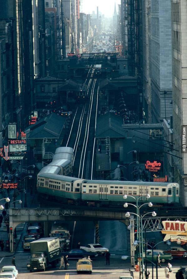 10)芝加哥的街道(1967)。