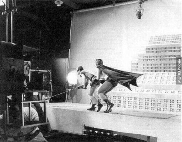 蝙蝠俠17。)的製作(1966)。