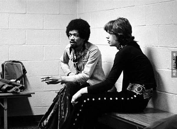 20)吉米亨德里克斯和米克·賈格爾(1969)。