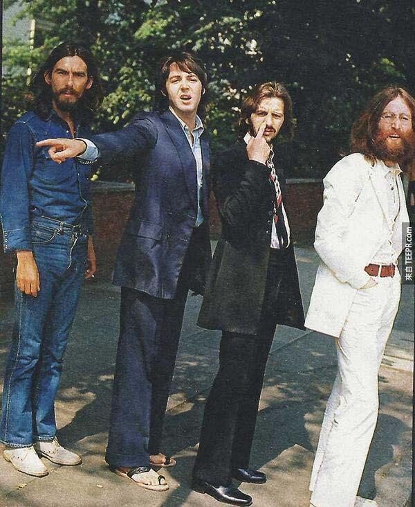3)之前,其標誌性的艾比路披頭士拍攝。