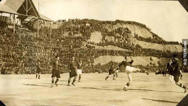 8)。諾坎普球場巴塞羅那(1925)。
