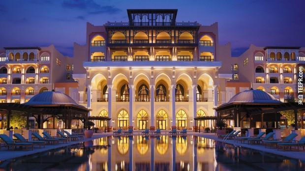 11,香格里拉大酒店,Qaryat Al Beri,阿布扎比 (Shangri-La Hotel, Qaryat Al Beri, Abu Dhabi)