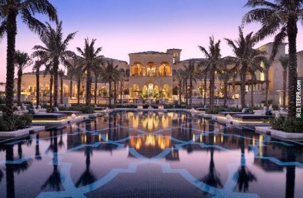 12. One&Only The Palm Dubai酒店 - 迪拜,阿拉伯聯合酋長國 (One & Only the Palm Dubai – Dubai, United Arab Emirates)