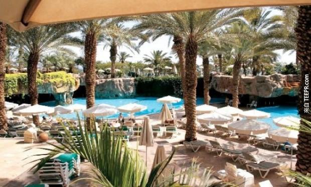 14. 米娜 A'薩拉姆 Madinat Jumeirah酒店 - 迪拜,阿拉伯聯合酋長國 (Mina A' Salam at Madinat Jumeirah – Dubai, United Arab Emirates)