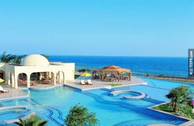 16. The Oberoi酒店 - 赫爾格達,埃及 (The Oberoi, Sahl Hasheesh – Hurghada, Egypt)