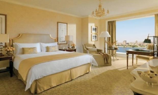 17. 四季酒店 - 埃及吉薩 (Four Seasons Hotel Cairo at the First Residence – Giza, Egypt)