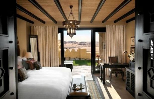 22. 安納塔拉卡斯爾 Al Sarab 沙漠度假酒店 - 阿布扎比,阿拉伯聯合酋長國 (Anantara Qasr Al Sarab Desert Resort – Abu Dhabi, United Arab Emirates)