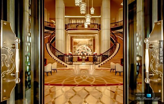 3. 瑞吉酒店 - 阿布扎比 (St Regis – Abu Dhabi)