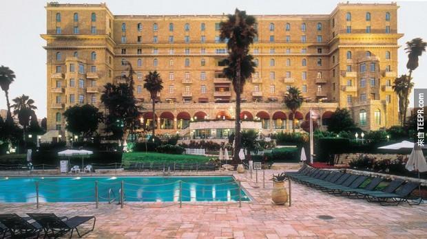 4,大衛王飯店 - 耶路撒冷,以色列 (King David Hotel – Jerusalem, Israel)