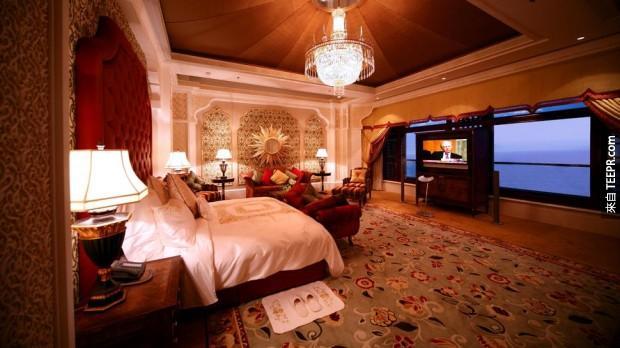 5. 華爾道夫吉達卡斯爾夏克 - 沙特阿拉伯 (Waldorf Astoria Jeddah Qasr Al Sharq – Saudi Arabia)
