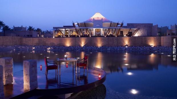6. Al Areen Palace & Spa - 巴林 (Al Areen Palace & Spa – Bahrain)