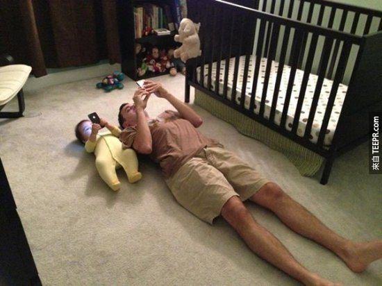 16個不用驗DNA也可以看出親子關係。#6張也太明顯了吧?笑翻了!
