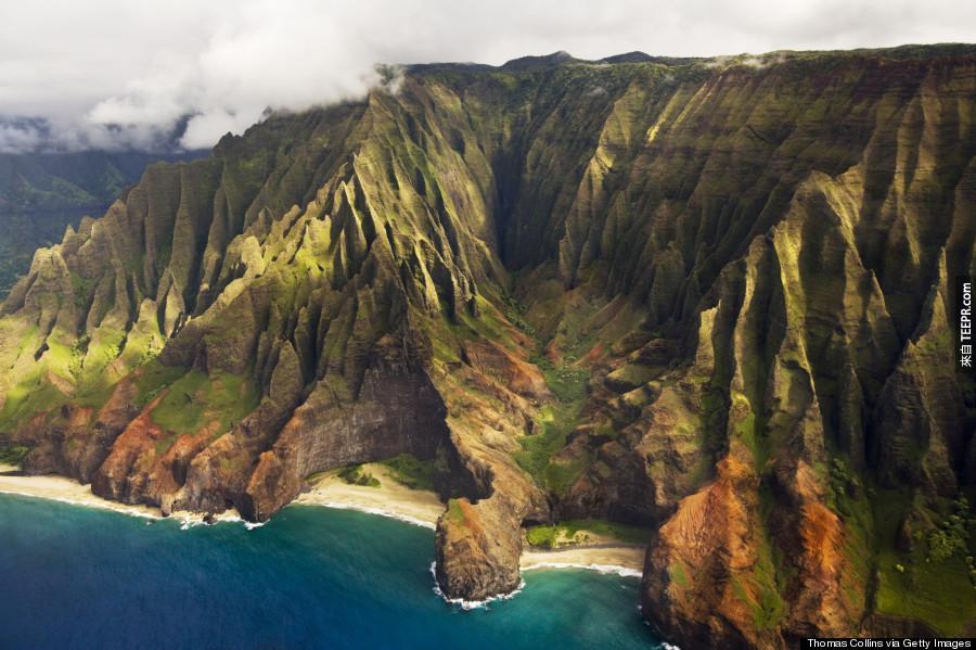 你知道為什麼有很多的人都說很想要去夏威夷嗎?這就是為什麼...WOW!