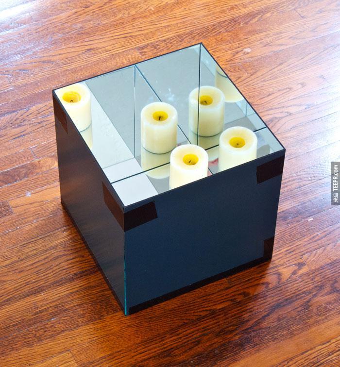 你覺得這看起來像是一個普通的盒子嗎?這絕對不是...看進去後你就會知道什麼叫做視覺爆炸。