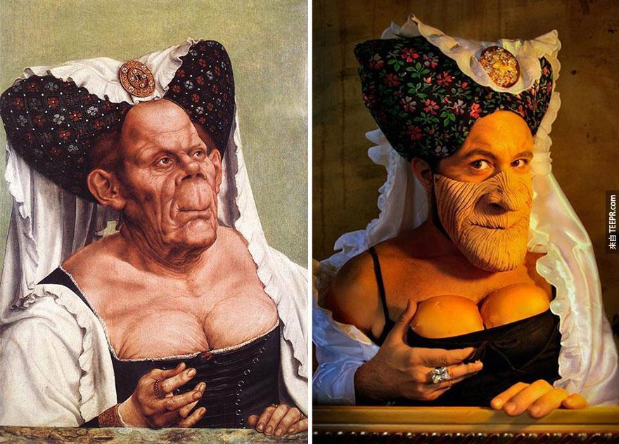 難看的公爵夫人 (Ugly Duchess) - 昆丁·馬西斯