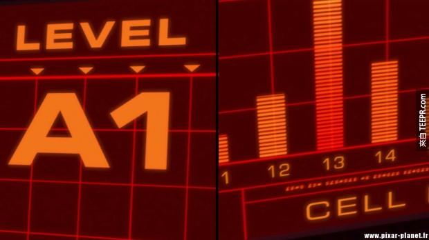 連在《超人總動員》裡的電腦螢幕上也有!