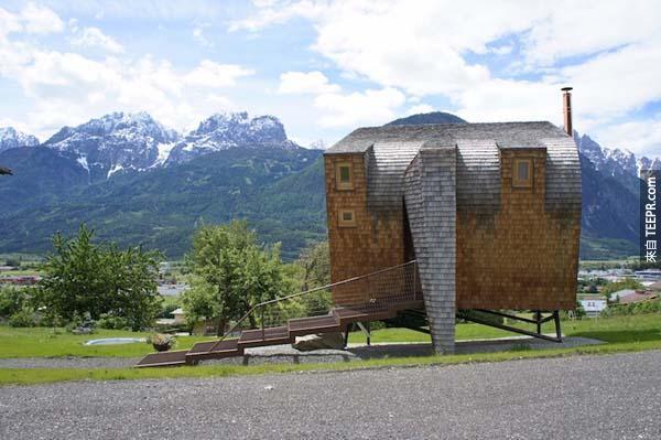 我超想要住在這棟房子裡面!你走進去後就會知道為什麼了。