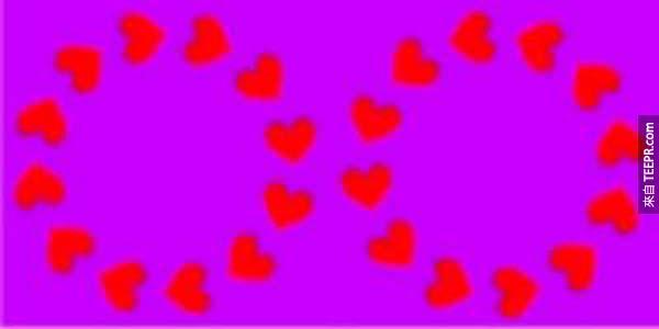 這24張照片會強迫你的大腦欺騙你。#3真浪漫!