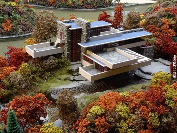 這美麗的建築最初是為了Kaufmann一家人所設計。