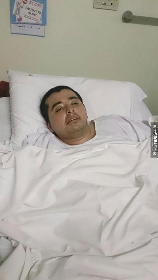 這名無助的男子癱瘓後完全沒有人去探望他。他發了一篇短文後,奇蹟發生了。