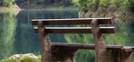 奧大力的Gruner-See公園