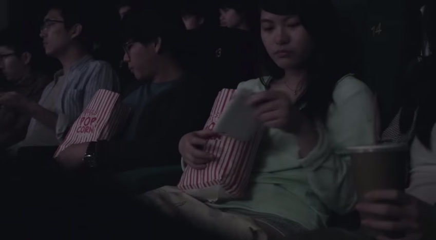 所有觀眾在看電影時手機響起,而當他們看螢幕時最可怕的事情就發生了。