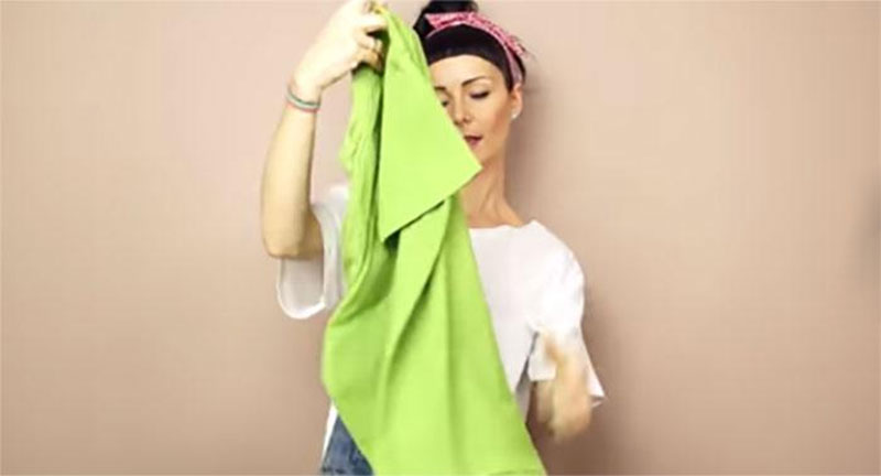 原來我這輩子折衣服都折錯了。這才是最簡單,最完美的方法。