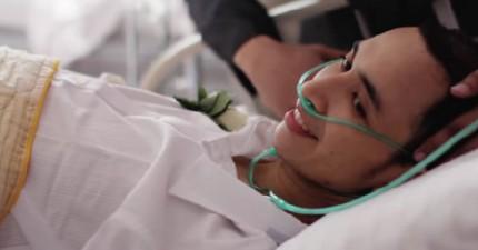 這家醫院為這名罹患肝癌達成的願望,讓我怎麼樣都忍不住眼淚...