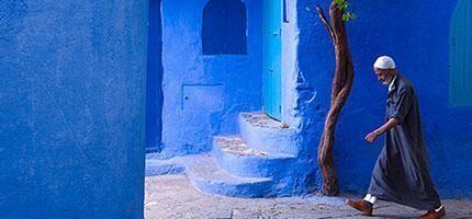 藍色的老鎮Chefchaouen